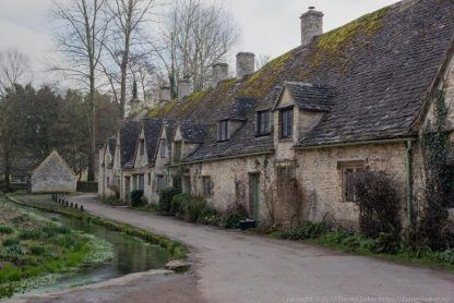 A row of old cottages Arlington row, Bibury